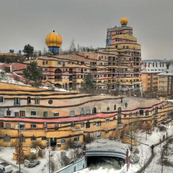 Μοναδικό σπιράλ κτήριο στο Darmstadt της Γερμανίας